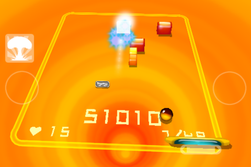Screenshot 3D Brick Breaker Revolution